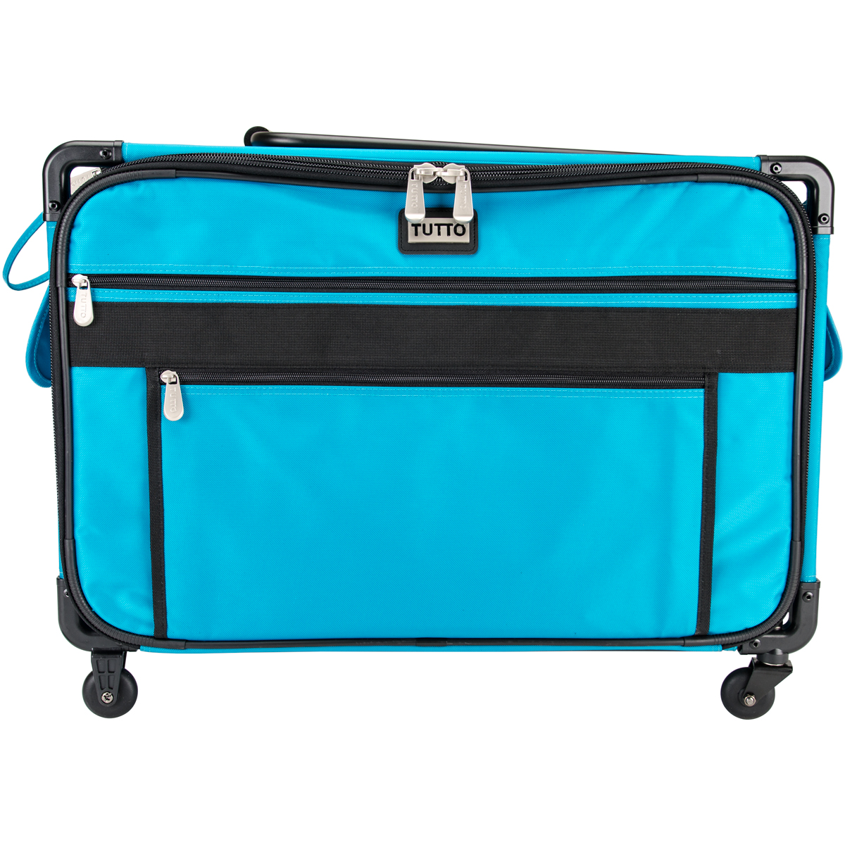 TUTTO Machine On Wheels Case, Turquoise
