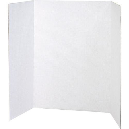 Pacon Spotlight Presentation Board, 48 x 36, White, 24/Carton