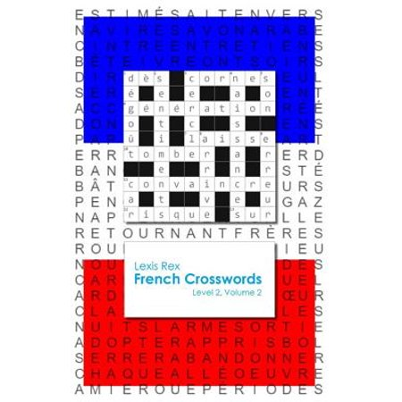 French Crosswords : Level 2, Volume 2 (French Halloween Crossword)
