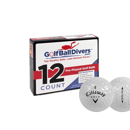 Callaway HX Tour Golf Balls, Used, Mint Quality, 12 Pack