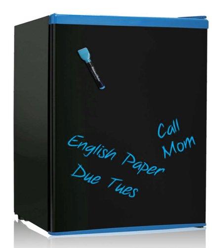 SPT 2.6 Cubic Feet Erase-Board Refrigerator, Energy Star, Blue