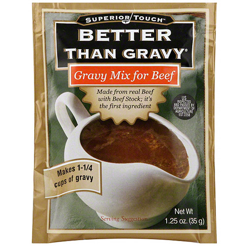 Superior Touch Gravy Mix For Beef, 1.25 oz (Pack of 12)