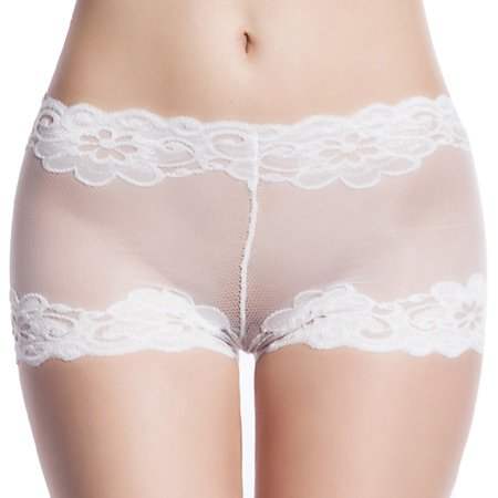 da3bc3f559 SupremeDeals - Women Sexy Hollow Out Panty Lace Printing Briefs Transparent  Lingerie Plus Size - Walmart.com