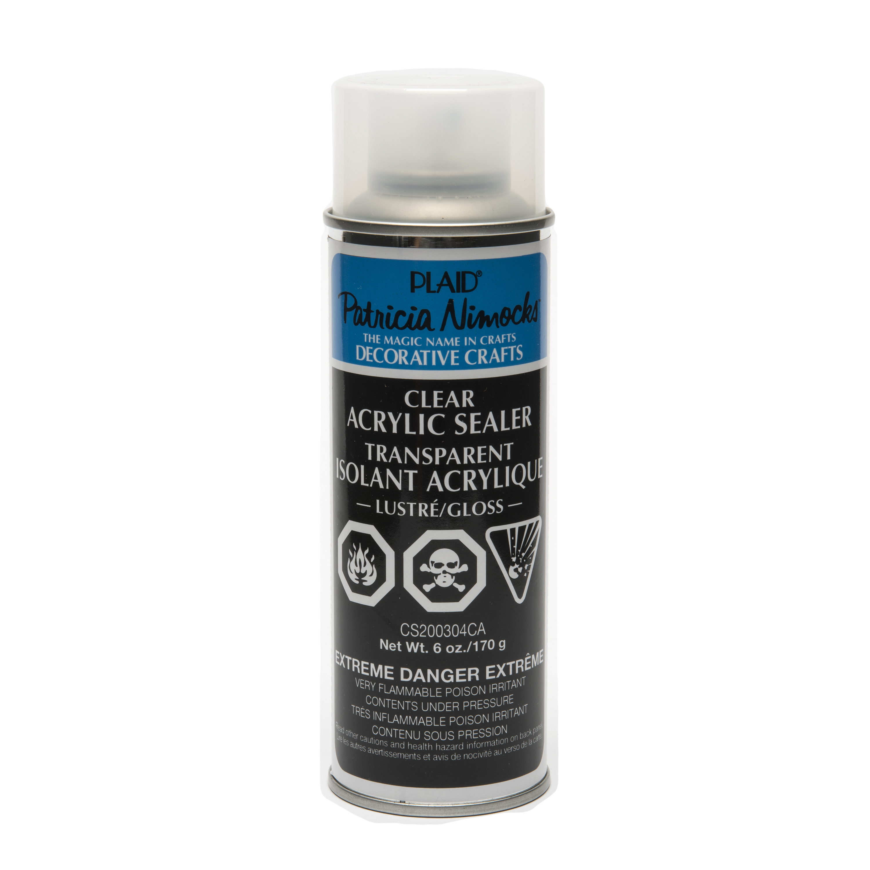 Patricia   Nimocks Clear Acrylic Sealer by Plaid, Gloss, 6 oz.