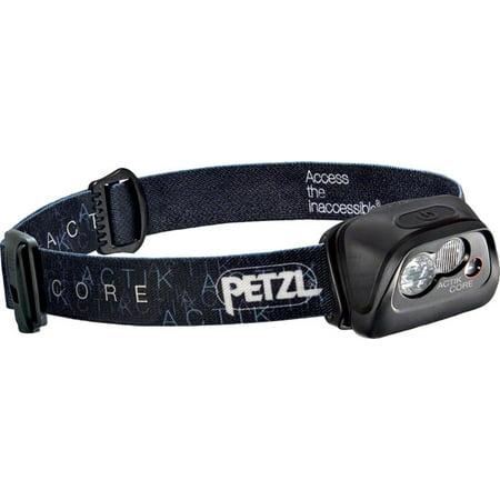 Petzl ACTIK CORE Rechargeable Headlamp 350 Lumens: Black