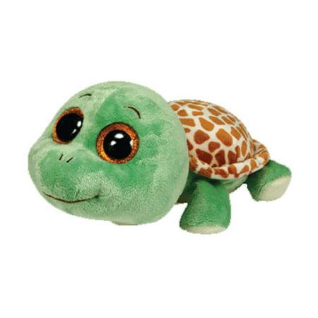 TY Beanie Boos - SANDY the Turtle (Glitter Eyes - Round Feet) (Regular Size  - 6 inch) - Walmart.com ae1400c89d2