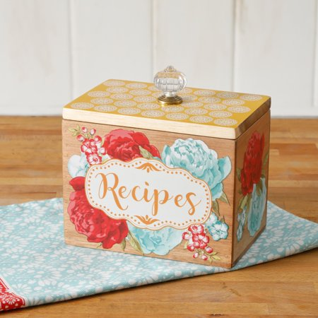 The Pioneer Woman Blossom Jubilee 6.2-Inch Recipe Box