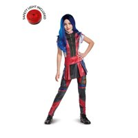 Descendants Evie Classic Costume Kit With Safety Light - Kids L
