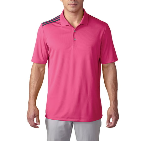 Adidas Golf ClimaCool 3 Stripes Golf Shirt Mens CLOSEOUT New - Choose Color!
