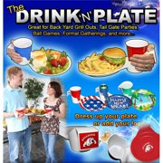 DRINK & PLATE, PRICED EAC