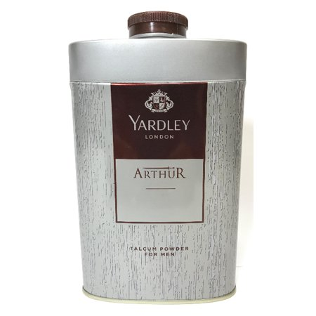 Talcum Powder Halloween (Yardley London Perfumed Talc Arthur Talcum Powder For Men 8.8 Oz (250)