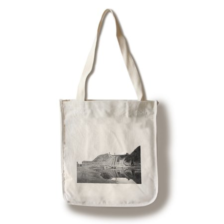 Fort Fisher, NC - Fort Entrance Civil War Photograph (100% Cotton Tote Bag - Reusable)