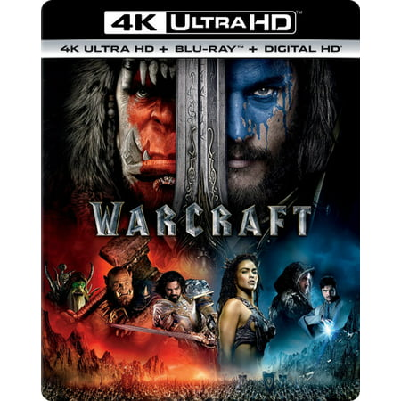 Warcraft  4K Ultra Hd   Blu Ray   Digital Copy