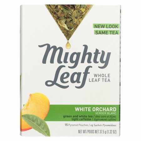 Mighty Leaf Tea White Orchard Pack Of 6 15 Bags