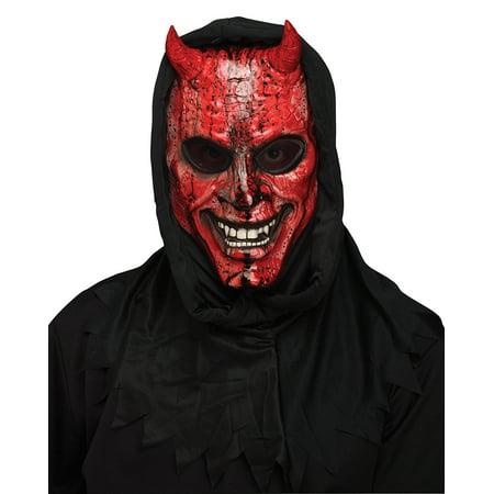 Bleeding Devil Costume Mask Adult Men - Devil Mask