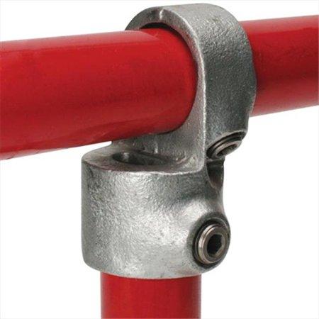 TekSupply 105942 Quik Klamp Short Tee Swivels 1 in - for 1.315 in OD Pipe (Quik Tee)