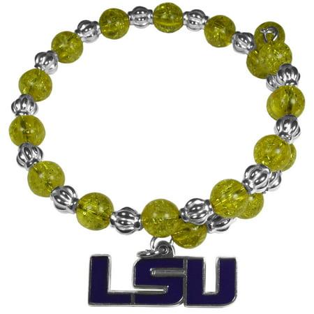 - NCAA LSU Tigers Snowflake Bracelet