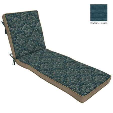 Bombay outdoors royal zanzibar outdoor reversible chaise for 23 w outdoor cushion for chaise