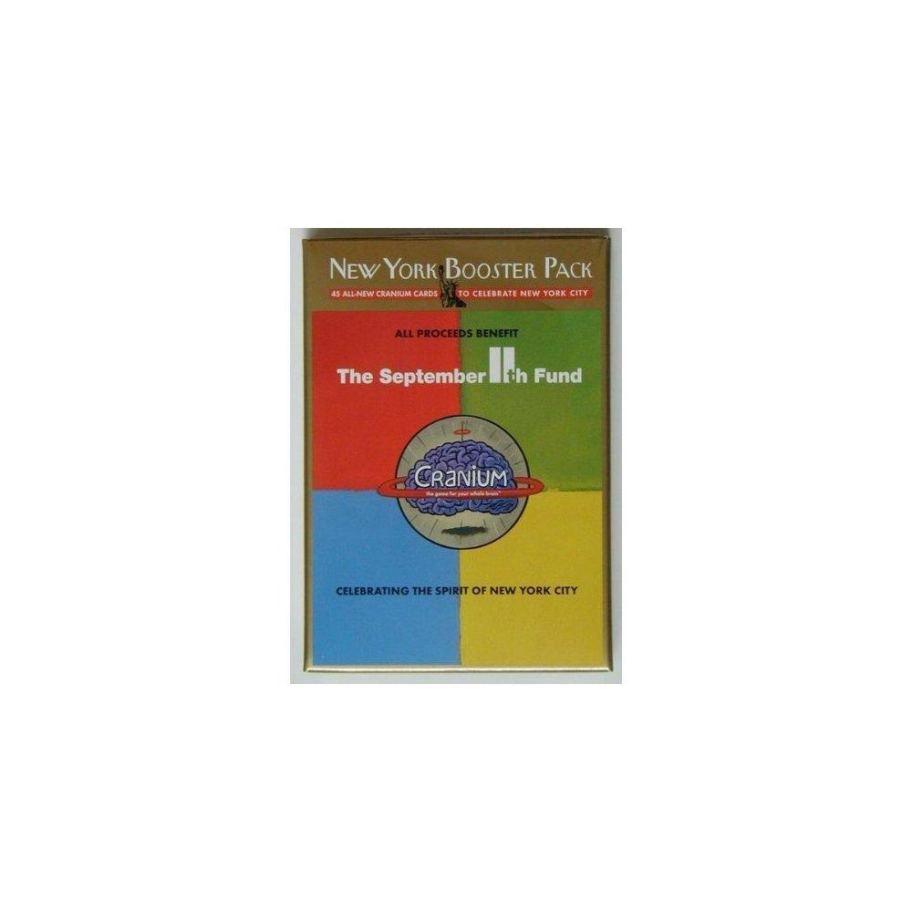 Cranium: New York Booster Pack, 45 All New Cranium Cards to Celebrate New York City, September 11th Fund by