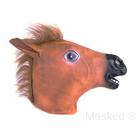 halloween adult horse mask