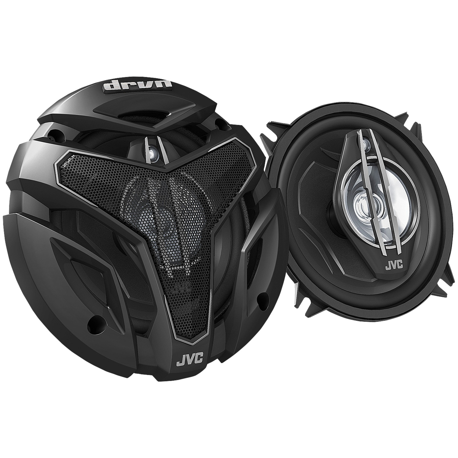 "JVC Mobile CS-ZX530 DRVN ZX Series Coaxial Speakers (5.25"", 3 Way)"