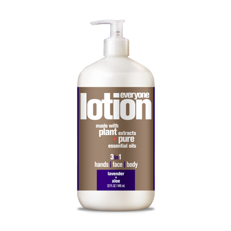 Everyone 3-in-1 Lotion Lavender & Aloe Hands Face Body 32 oz.](Fake Body)