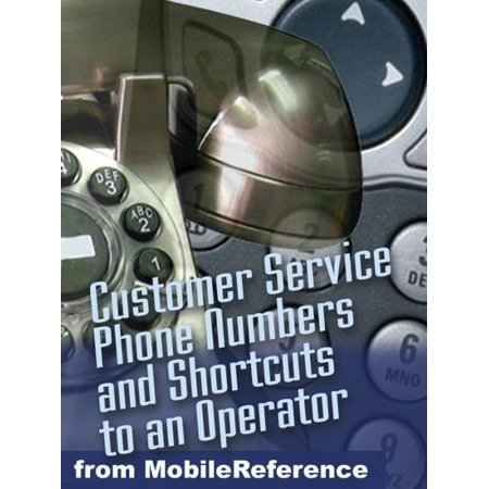 Secret Toll-Free Customer Service Phone Numbers: Shortcuts To An Operator For Nearly 600 Businesses And Us Government Agencies (Mobi Reference) - (Old Navy Visa Customer Service Phone Number)