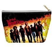 Warriors Walk Accessory Pouch White 8.5X6