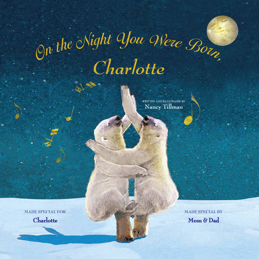 Personalized Book - On the Night You Were Born