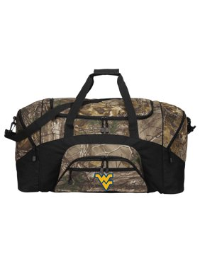 Product Image Camo WVU Duffle Bag Or RealTree Camo West Virginia Gym Bag 3644b3e892dd0