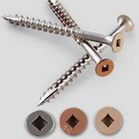 Price Point Deck - Simpson Strong-Tie S10250DJG Deck Screw, #10 Thread, Coarse, #2 Drive, Type 17 Point