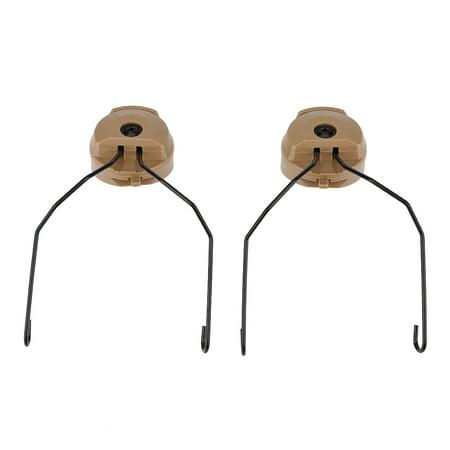 LHCER 1Pair Tactics for Sordin Type Headset Holder for Fast Helmet Rail Adapter Set , Headset Holder for Helmet, Helmet Rail Adapter - image 6 of 7