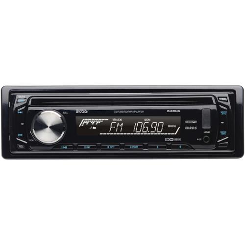 New Boss Audio 648Ua Am/Fm/Mp3/Cd Car Player In Dash Usb/Sd Aux Receiver Audio