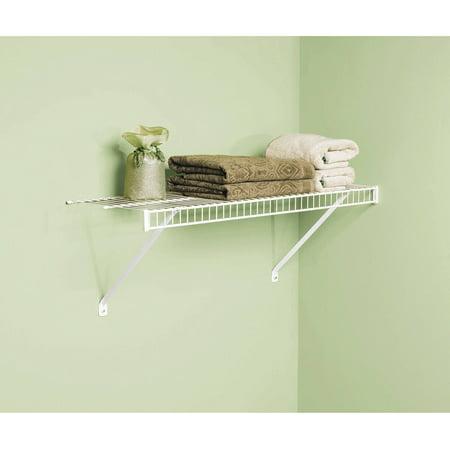 Rubbermaid Linen Shelf Kit, 12