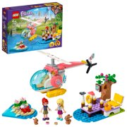 LEGO Friends Vet Clinic Rescue Helicopter 41692; Vet Toy Makes Great Gift for Kids (249 Pieces)