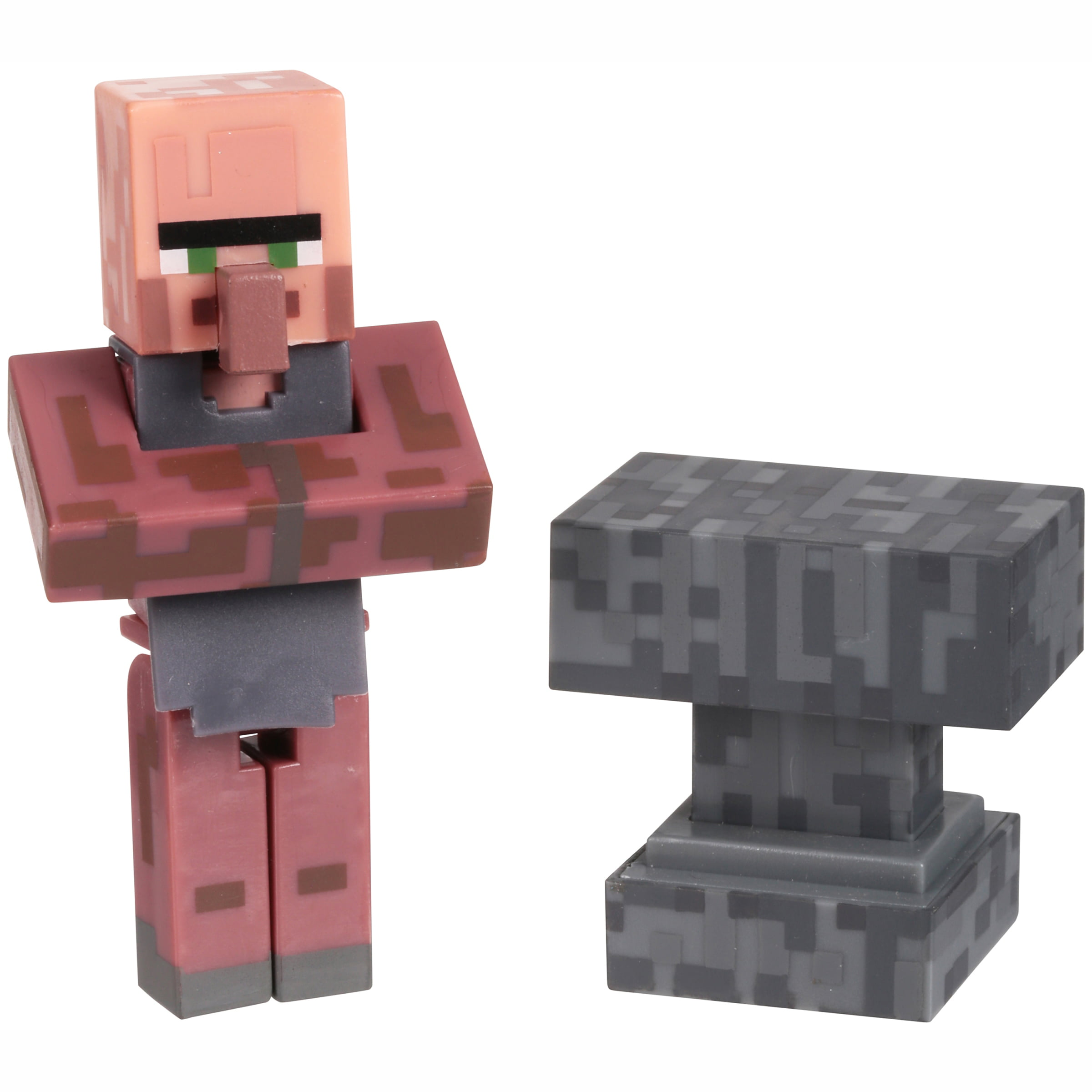 Minecraft Series #2 Overworld Villager Blacksmith 2 pc Carded Pack by Jazwares, LLC.