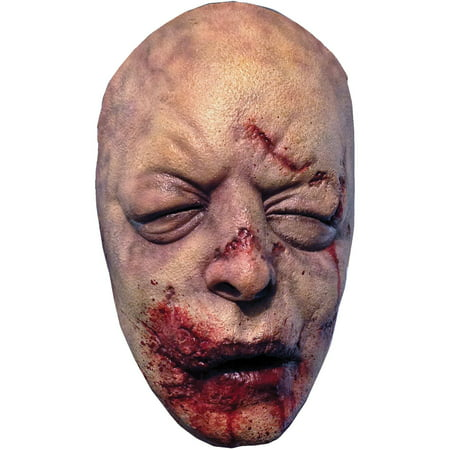 Walking Dead Bloated Walker Latex Mask Adult Halloween Accessory](Halloween Dead Man Serving)