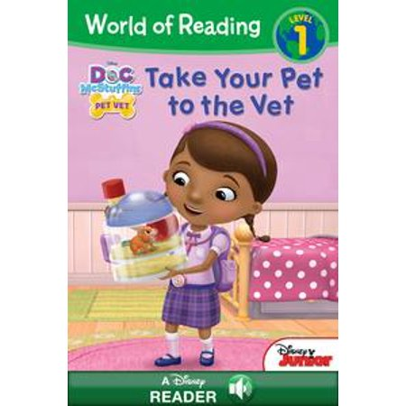 World of Reading: Doc McStuffins: Take Your Pet to the Vet - eBook