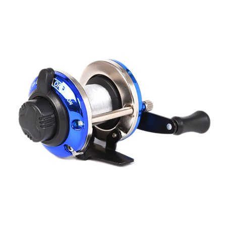 MAXSUN Winter Metal Baitcasting Reel Boat Ice Fishing Wheel (Boat Reel)