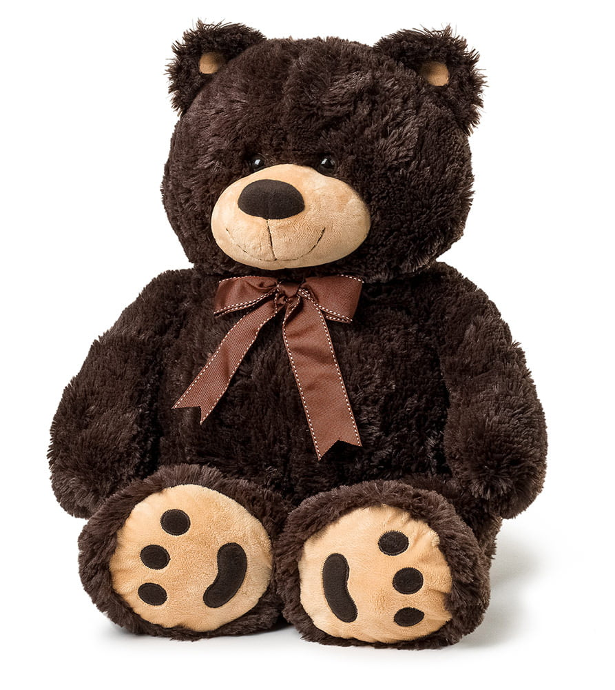 Joon Big Teddy Bear, Dark Brown by Joon
