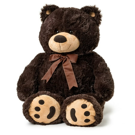 Joon Big Teddy Bear, Dark Brown