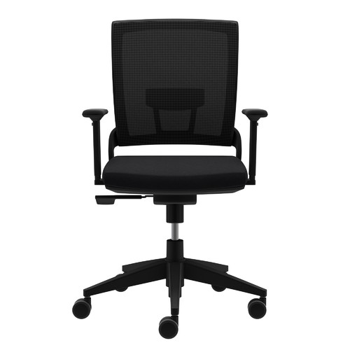 Amazing Compel Office Furniture Mesh Moby Task Chair With Arms