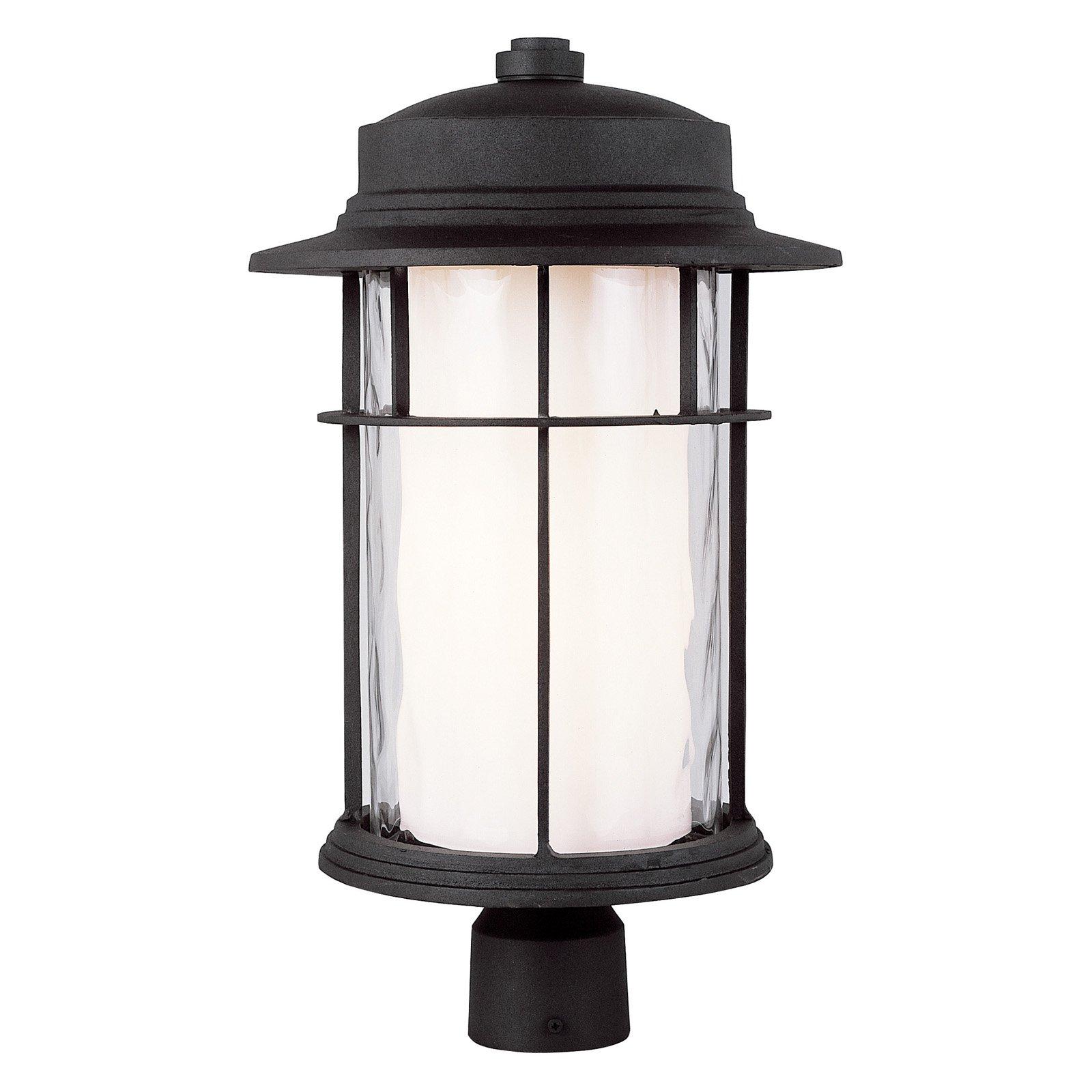 Trans Globe 5296 Post Lantern - 12W in. - Rust