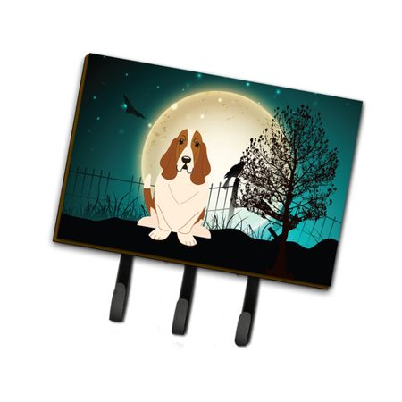 The Holiday Aisle Halloween Scary Basset Hound Leash or Key - The Halloween Hound