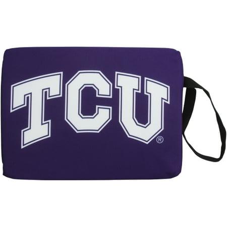 TCU Horned Frogs Stadium Cushion - Purple - No Size](Plastic Stadium Horn)