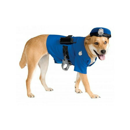 Halloween Big Dogs' Police Dog Pet Costume](Dog Costume Prisoner)