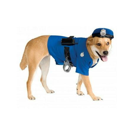 Halloween Big Dogs' Police Dog Pet Costume - Monkey Riding Dog Halloween Costume