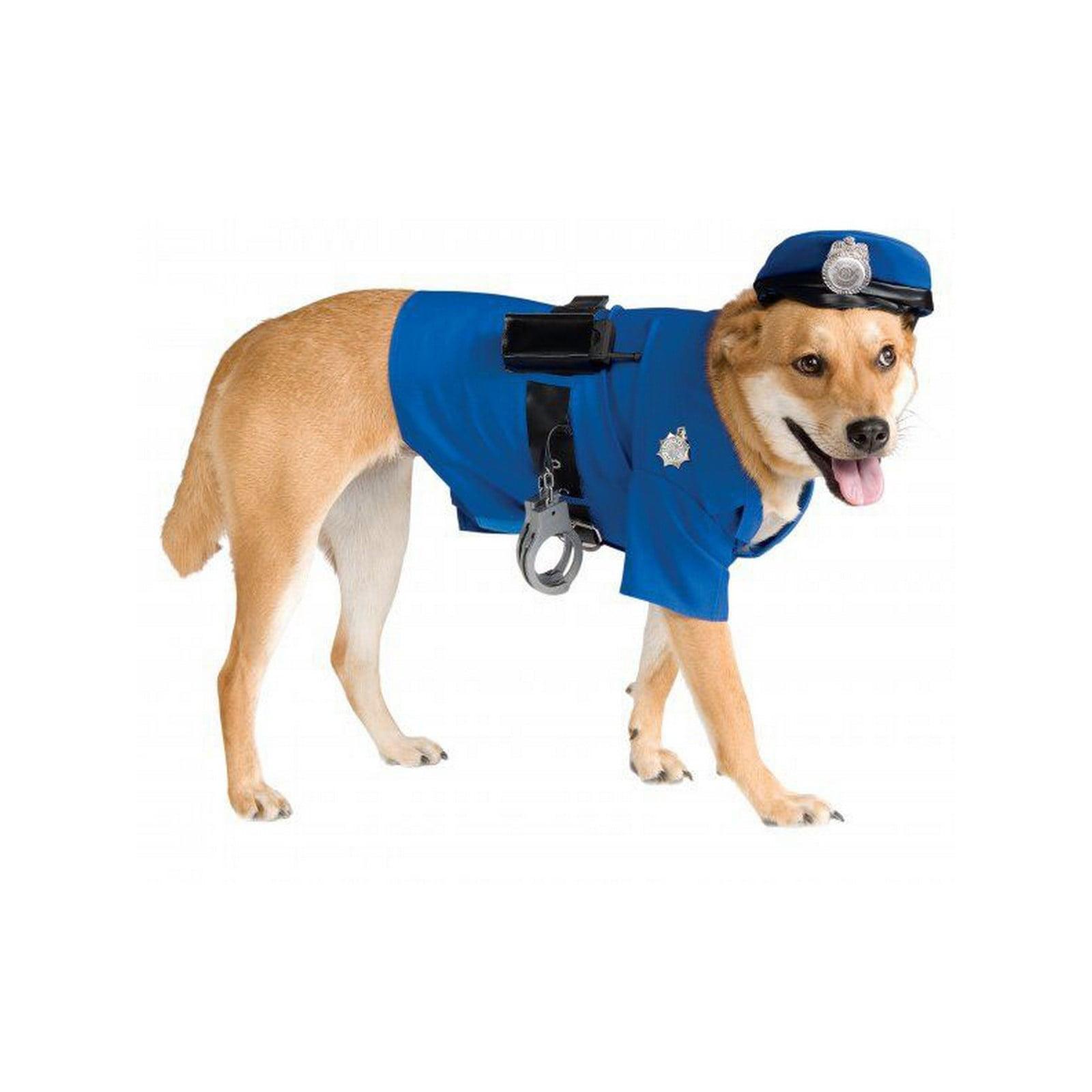 Halloween Big Dogs' Police Dog Pet Costume