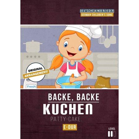 Backe, Backe Kuchen - eBook (Schneller Halloween Kuchen)