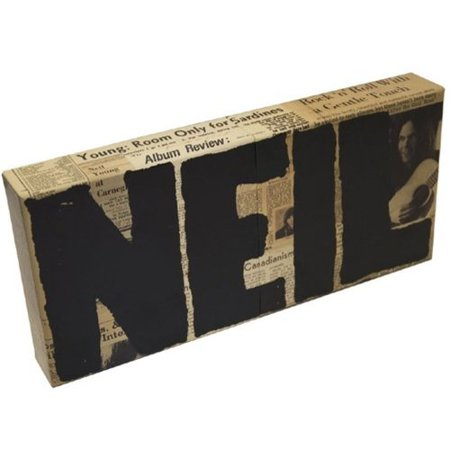 Neil Young Archives 1  1963 1972   Box